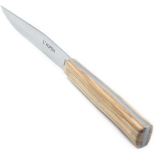 Couteaux de table l'Alpin en olivier